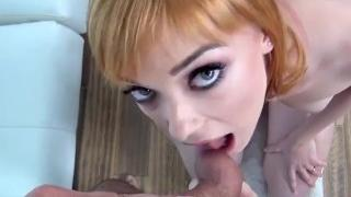 CastingCouch X Ginger Anny Aurora first fuck with casting agent